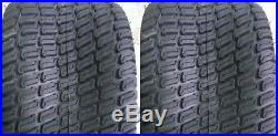 2 24x12.00-12 6 Ply HEAVY DUTY Deestone D838 Turf Master Lawn Mower Tires FREE