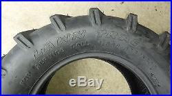 2 26x12.00-12 4P OTR Lawn Trac Tires Lug R-1 R1 PAIR AG 26x12-12