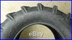 2 26x12.00-12 4P OTR Lawn Trac Tires Lug R-1 R1 PAIR AG 26x12-12 FREE SHIP