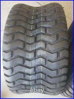 2 26x12.00-12 6 Ply Deestone D265 Turf Lawn Mower Tires PAIR DS7085 26x12-12