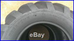 2 26x12.00-12 Deestone 10P Super Lug Tires AG PAIR DS5336 26x12-12 26/12-12