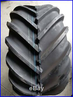 2 26x12.00-12 Deestone 4P D405 Super Lug Tires PAIR DS5251 26X12-12 26/12-12
