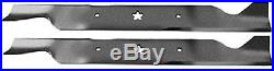2 AYP SEARS CRAFTSMAN HUSQVARNA MOWER BLADES 46 DECK 405380 532405380