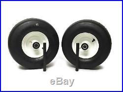 (2) Exmark Lazer Z Air Tire Wheel Assemblies 13x5.00-6 13x5.00x6 Part 1-633582