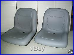 (2) HIGH BACK SEATS Toro Workman MD HD 2100 2300 4300 UTV Utility Vehicle #TN