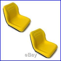 (2) HIGH BACK Seats John Deere Gator Gas & Diesel Models 4x2 4x4 HPX & TH 6x4