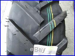 2 New 20x10.00-8 Trac Gard Super Lug Tires 4 Ply 20x10-8 1000 Lawn Mower Tractor