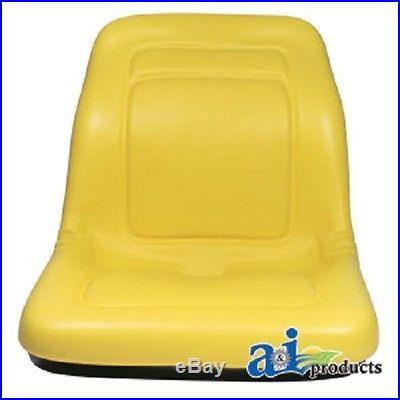 (2) New HIGH BACK Seats John Deere Gator XUV 850D / 4x2 HPX / 4x4 HPX / 6x4