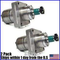 2 Pack Exmark Lazer Z Mower Wheel Motor 1-523328 Parker TF0240US081AADD OEM Spec