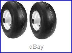 2 Replac Exmark Lazer Z Front Wheel Tire 103-0069 1-644251 13 6.50 6 13x650x6