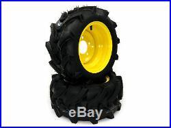 (2) Replacement Front Wheel Assemblies fits John Deere 18x8.50-10 LVA20123