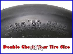 (2) Scag Flat Free Tire Assemblies 13x6.50-6 9278 482504 483050 Same Day Ship
