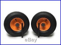 (2) Scag Pneumatic Tire Assemblies 13x5.00-6 Part 482503 9277