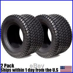 (2) Turf Lawn Mower 24x12.00-12 Tires 24x12x12 24x12-12 24x12.00-12 P332 4PR