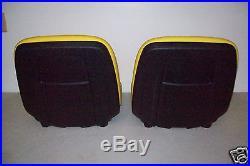 (2) Two High Back Seats Fits John Deere Gators, Hpx, 4x4,4x2,6x4, Xuv Tx, Th, Jd #jr