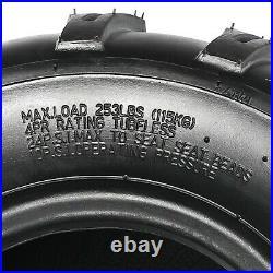 2pc 18x9.50-8 Tire Riding Lawn Mower Garden Tractor Turf Tire 18x9.5-8 ATV Quad