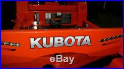 30 hrs Kubota Z121skh Mower 48