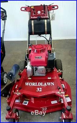 32 Worldlawn walk behind mower