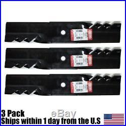 3PK Ferris 48 Oregon 596-310 Gator Mulching Lawn Mower Blades 5020843 1520843