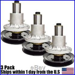 (3) Exmark Spindle Assembly 103-1183 103-1184 103-1140 Lazer Z 44 48 52 60