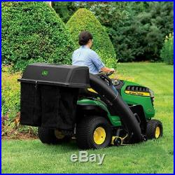 48'' Twin Bagger John Deere 100 Series Tractor Riding Lawn Mower Grass Collector
