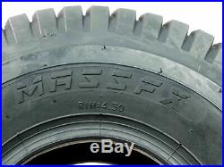 4 New MASSFX Lawn Mower Tires 15x6-6 20x10-8 4 PLY Four Pack Lawn & Garden