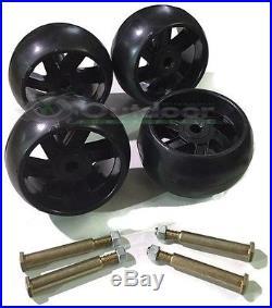 4 PK Husqvarna Craftsman Mower Deck Wheels Bolts 174873 133957 193406 532174873