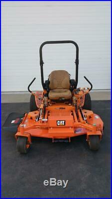 61 Scag Turf Tiger CAT 28HP Diesel Zero Turn Riding Commercial Lawn Mower ZTR