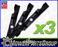 A171 Cub Cadet 50 RZT 1 Set of 3 blades 942-04053C Troy Bilt MTD Zero Turn