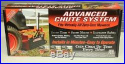 ADVANCED CHUTE SYSTEM Extended Handle kit Mower Chute Blocker All Brands