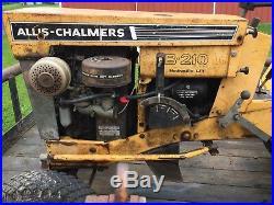 ALLIS CHALMERS B-210 Hydraulic Lift GARDEN TRACTOR withDeck