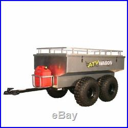 ATV Wagon 45 Cubic Foot Aluminum Tandem Axle Trailer
