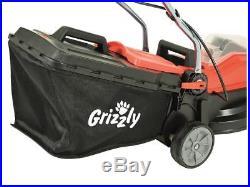 Akku Rasenmäher Grizzly ARM 2433-20 Schnittbreite 33 cm 24 V 35 Liter Fangsack