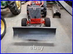 Allis Chalmers B-12 Garden Pulling Tractor. 1966. Ser. # 003168. Tiller & Deck