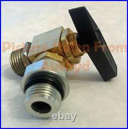 AuxHyd Quarter Turn Hydraulic Lockout Valve for John Deere X465 X748 425 455