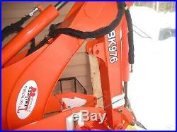 BK 976 Backhoe for Kubota Tractor