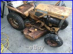 B-1 Alice-Chalmers 1960s vintage Garden tractor