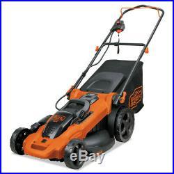 Black & Decker 40v 20 Max 3-In-1 Electric Lawn Mower CM2043C New
