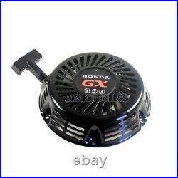 Black Pull Start Recoil Starter For Honda Gx390 13hp Gx340 11hp Engine Generator