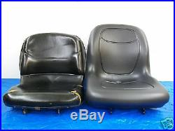 Black Seat John Deere Compact Tractors 670,770,790,870,970,990,1070,4005 #fs