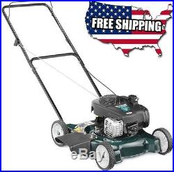Bolens Push Lawn Mower Pull Start Side Discharge Residential 3 Position Height