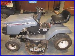 CRAFTSMAN 14.5 RIDING LAWN TRACTOR BRIGGS AND STRATTON ENGINE 42 DECK