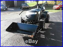 Craftsman Lawn Mower Garden Tractor Scoop Loader Bucket Attachment Weights Chain