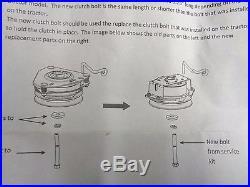 CRAFTSMAN RIDING LAWN MOWER ELECTRIC CLUTCH # 180505 421612 & fits POULAN HUSKY