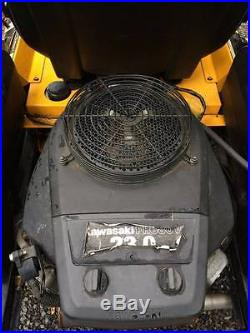CUB CADET 60 Z-Force ZERO TURN RIDING LAWN MOWER 23HP Kawasaki