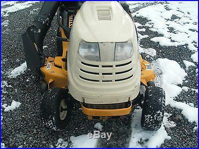 CUB CADET LT1022 LAWN TRACTOR 22HP V-TWIN B&S 46 DECK W/ TWIN BAGGER