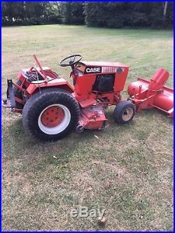 Case 446 Garden tractor 3pt Snowblower 16HP Onan Gas Engine HYDRAULICS RARE
