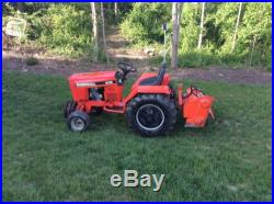 Case Ingersoll 4016 with attachments
