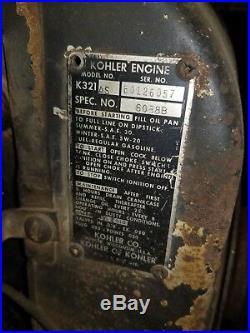 Case ingersoll 444 Garden tractor 14hp Kohler lawn tractor