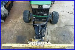 Complete Adapter Kit 54 Blade Plow For 318 To John Deere 425 445 455 Tractor